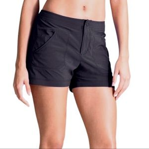 Athleta Costa Lightweight Black Shorts w/Pockets